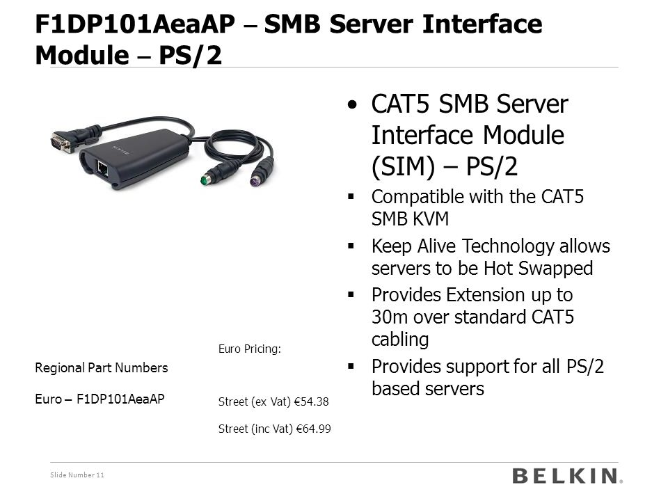 F1DP101AeaAP – SMB Server Interface Module – PS/2