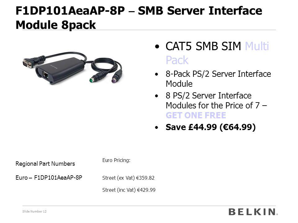 F1DP101AeaAP-8P – SMB Server Interface Module 8pack
