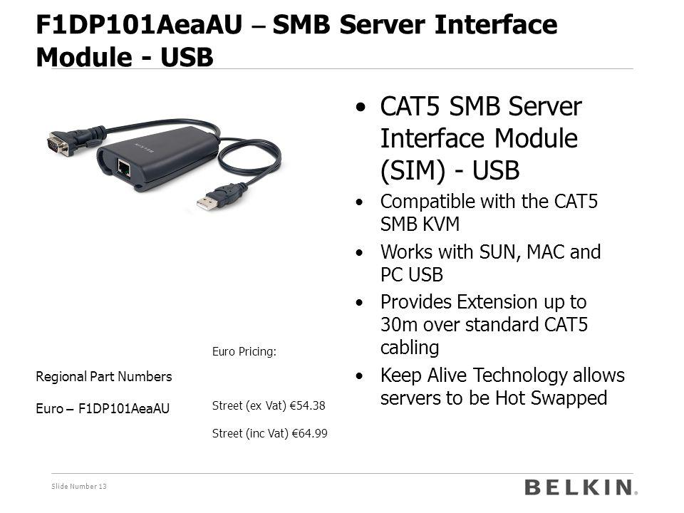 F1DP101AeaAU – SMB Server Interface Module - USB