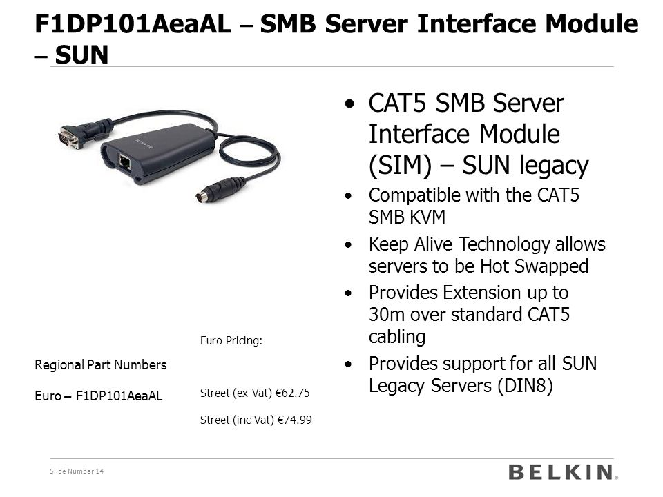 F1DP101AeaAL – SMB Server Interface Module – SUN