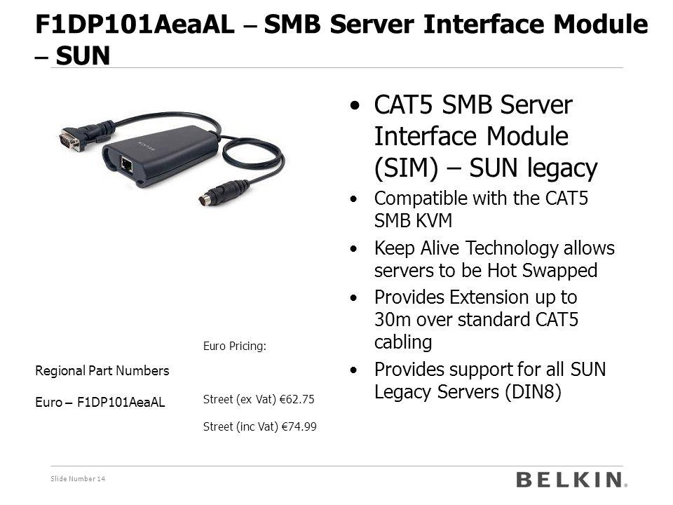 F1DP101AeaAL – SMB Server Interface Module – SUN