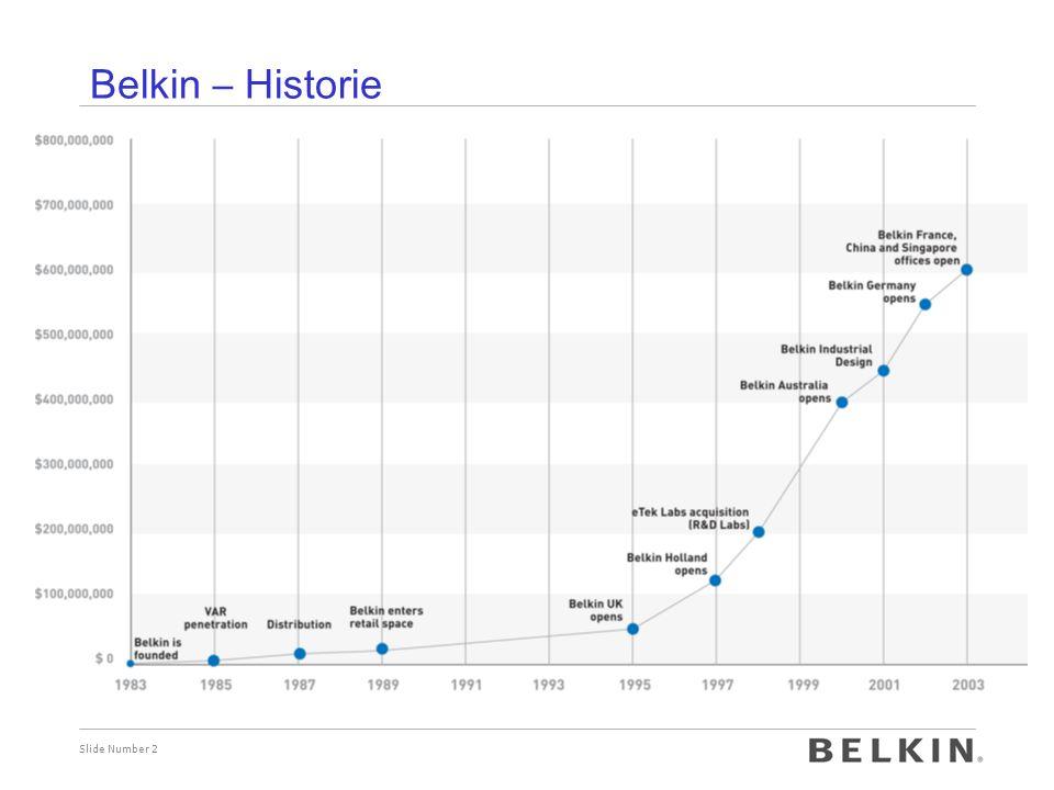 Belkin – Historie