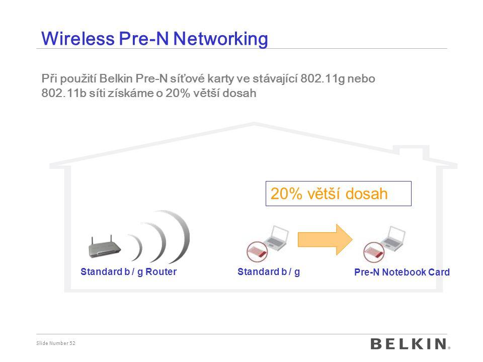 Wireless Pre-N Networking