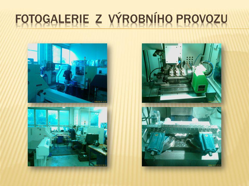 Fotogalerie z výrobního provozu