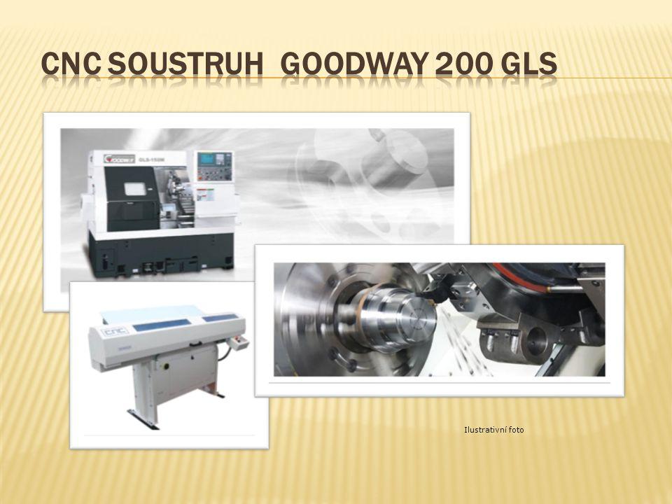 CNC soustruh GOODWAY 200 GLS
