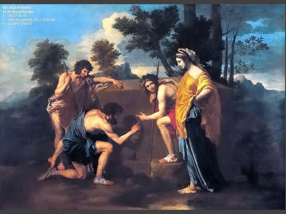 Nicolas Poussin Et in Arcadia ego 1637-1638