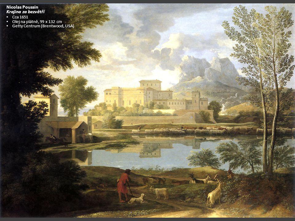 Nicolas Poussin Krajina za bezvětří Cca 1651