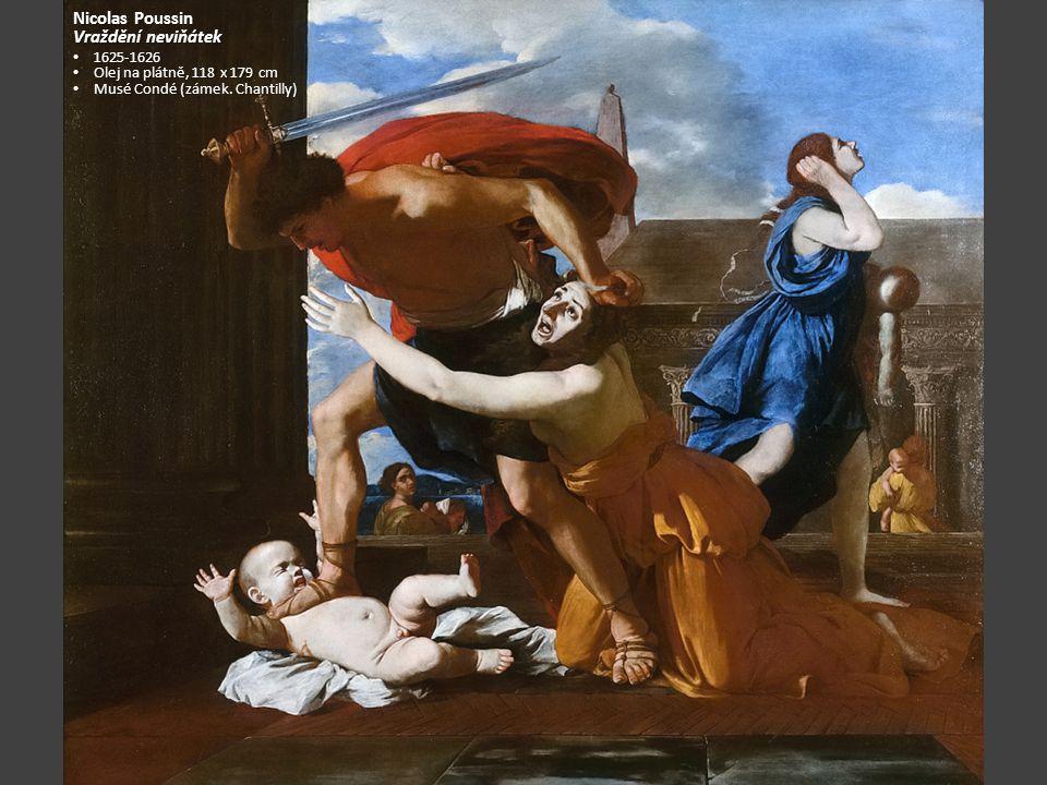 Nicolas Poussin Vraždění neviňátek 1625-1626