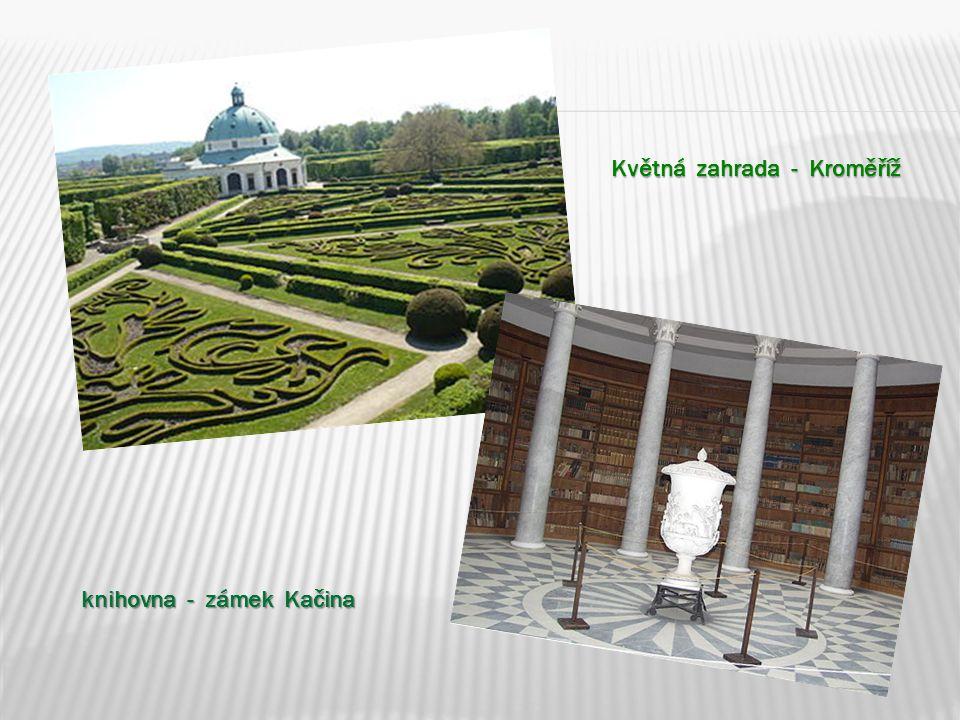 Květná zahrada - Kroměříž