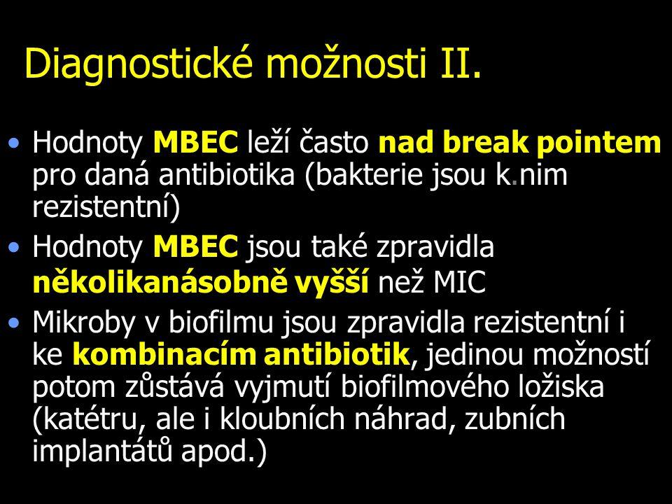 Diagnostické možnosti II.