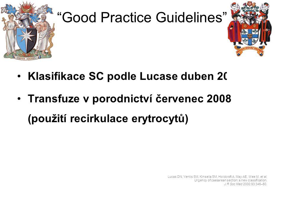 Good Practice Guidelines