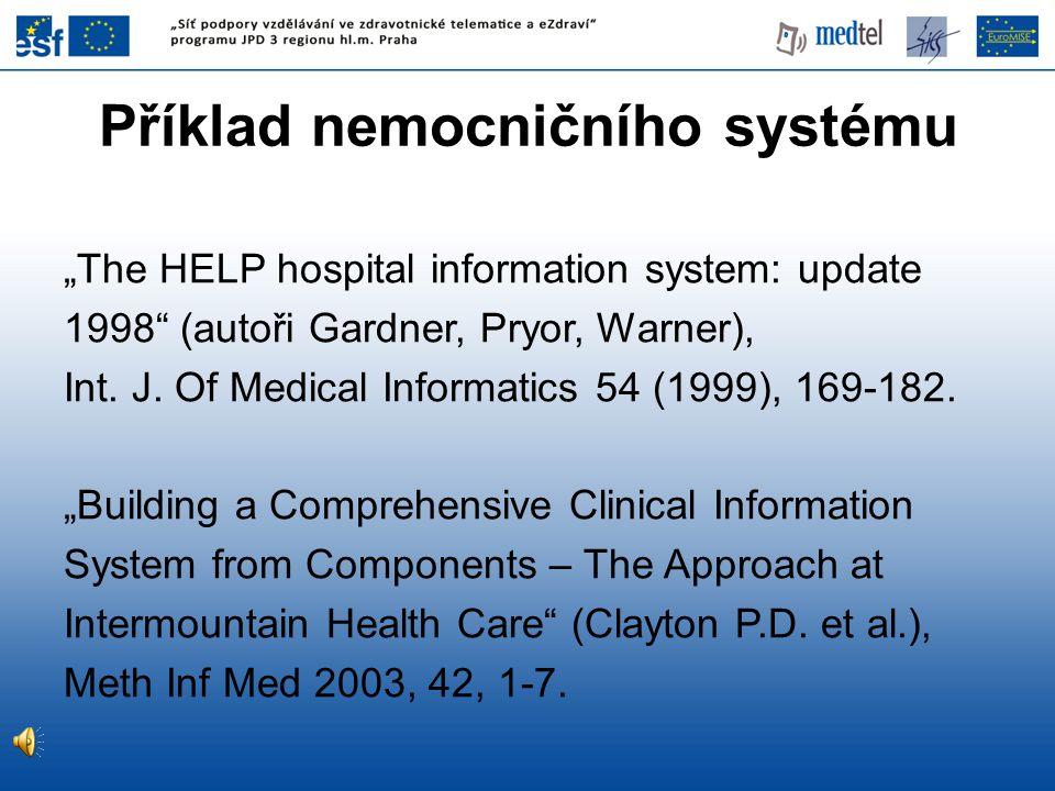 Příklad nemocničního systému