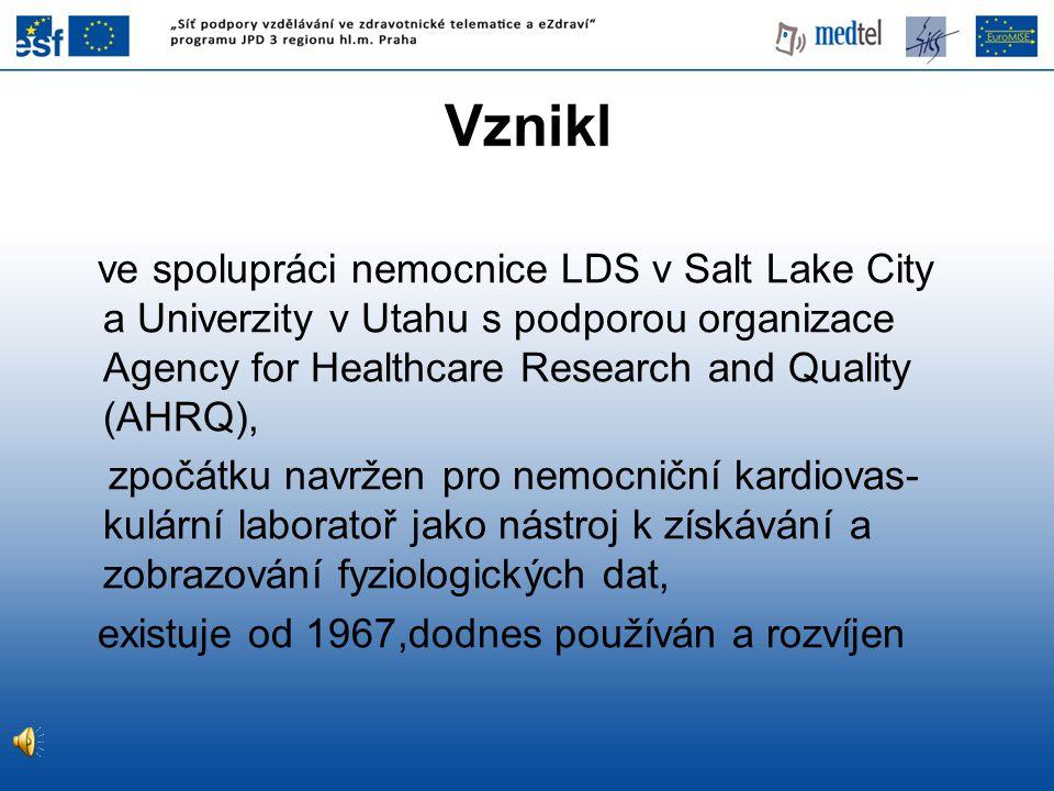 Vznikl ve spolupráci nemocnice LDS v Salt Lake City a Univerzity v Utahu s podporou organizace Agency for Healthcare Research and Quality (AHRQ),
