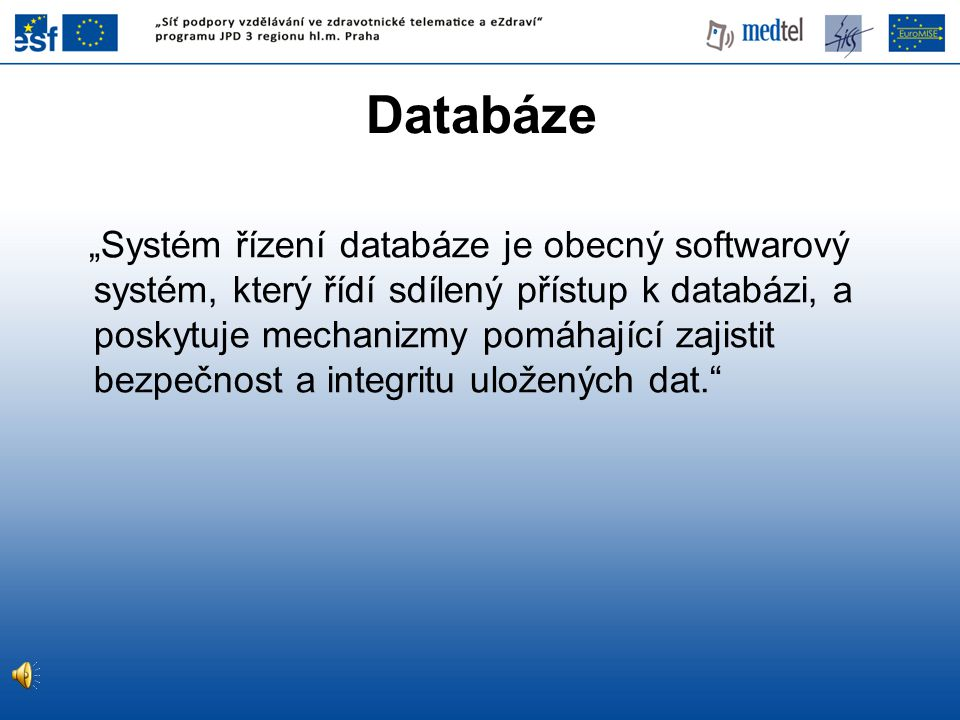 Databáze