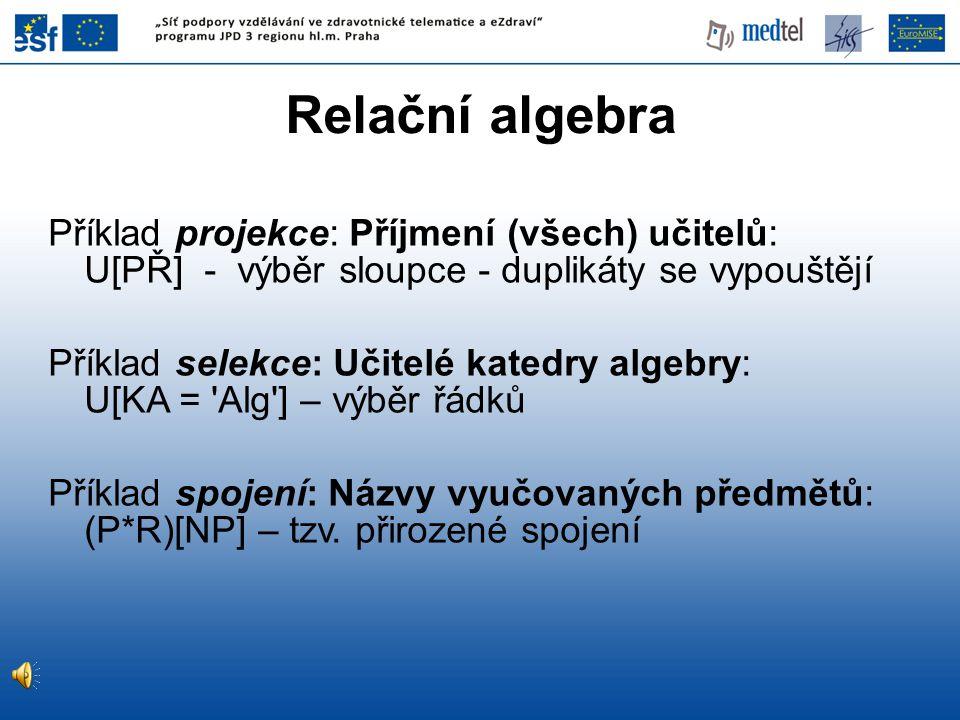 05/04/2017 Relační algebra.