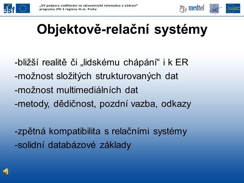 Objektově-relační systémy