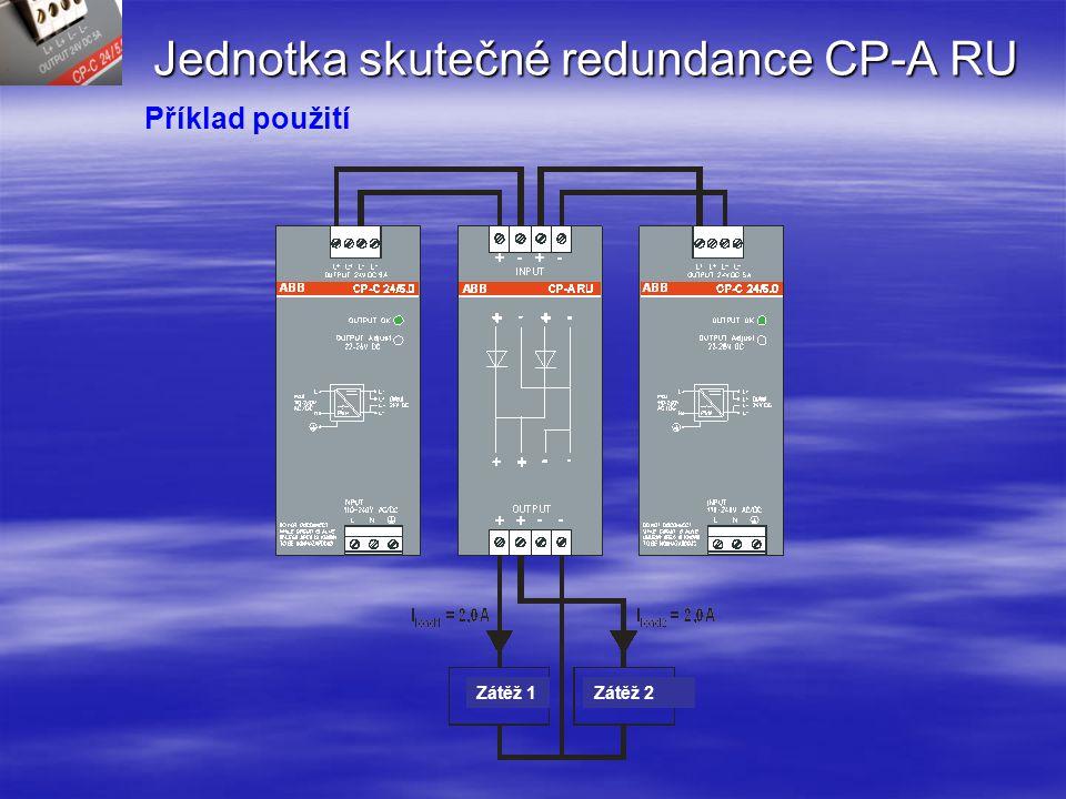 Jednotka skutečné redundance CP-A RU