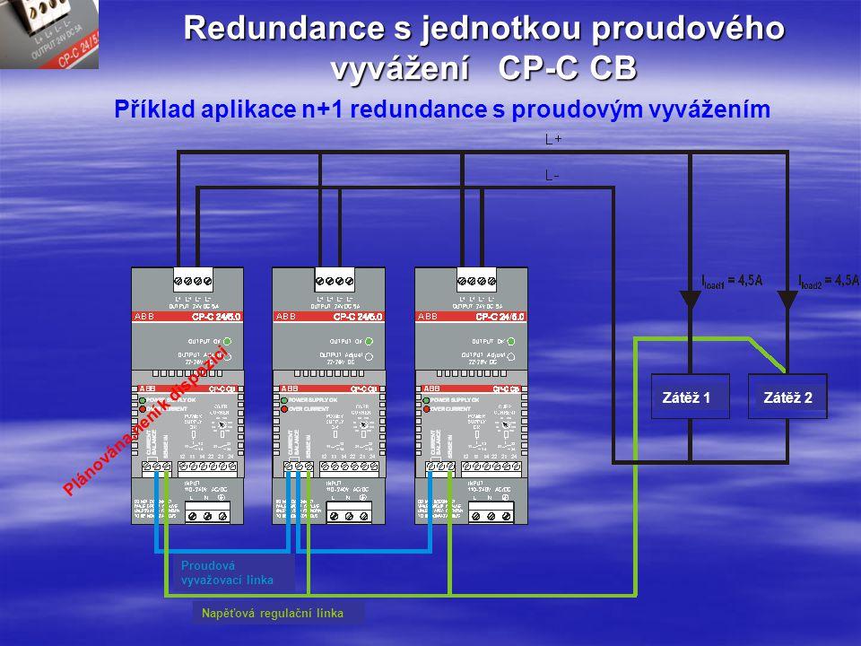 Redundance s jednotkou proudového vyvážení CP-C CB