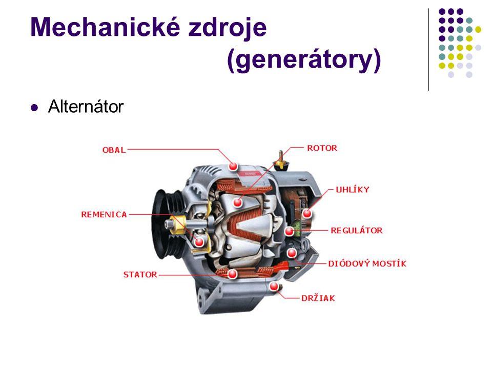 Mechanické zdroje (generátory)