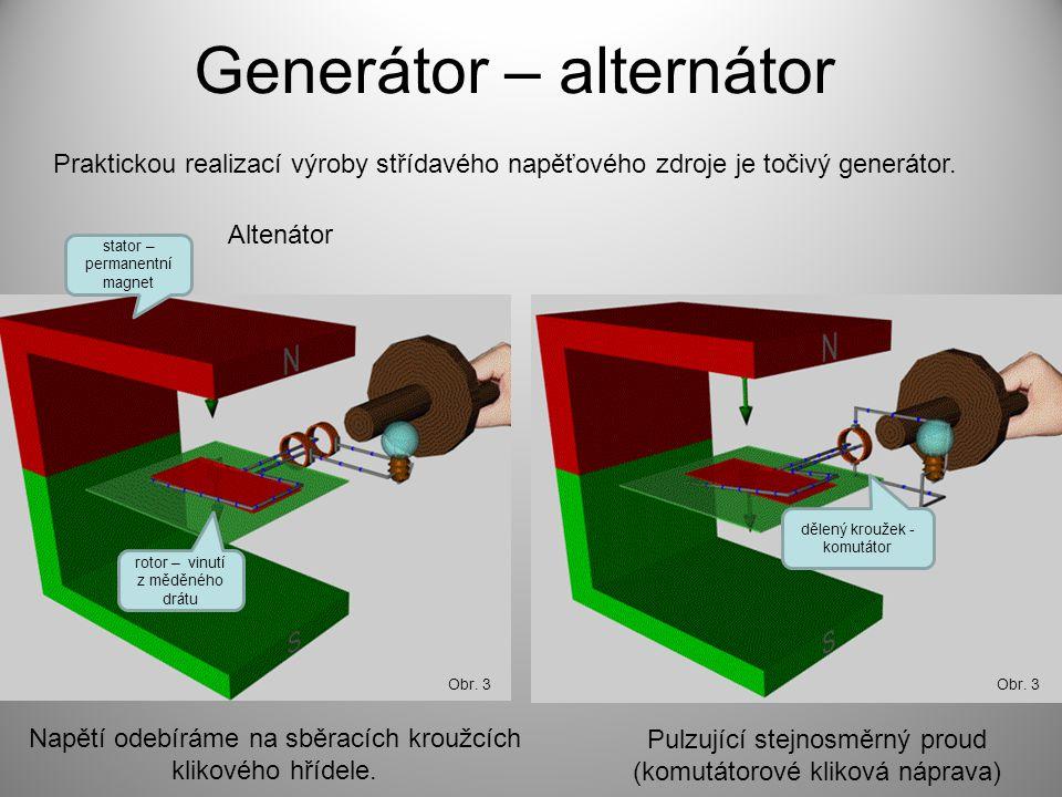 Generátor – alternátor