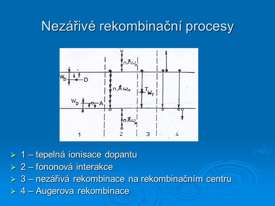 Nezářivé rekombinační procesy