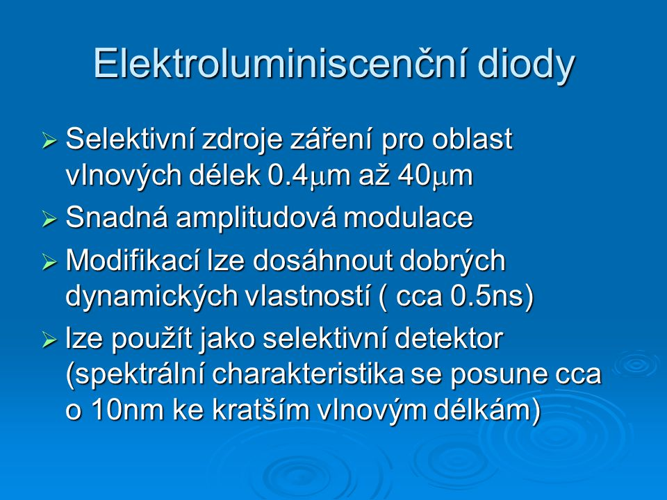 Elektroluminiscenční diody