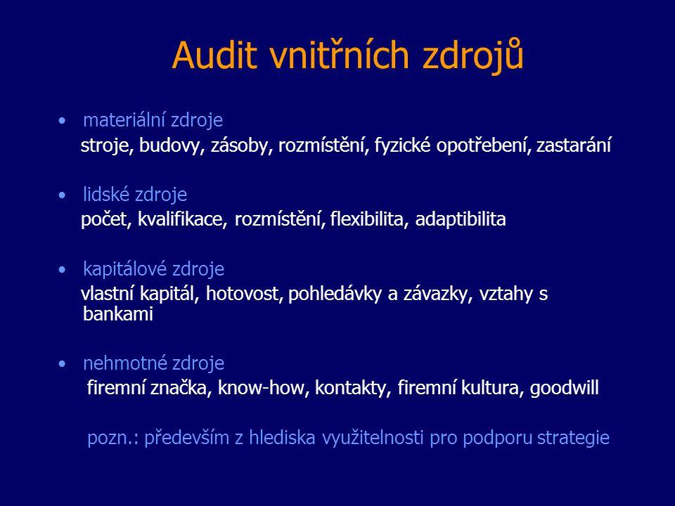 Audit vnitřních zdrojů