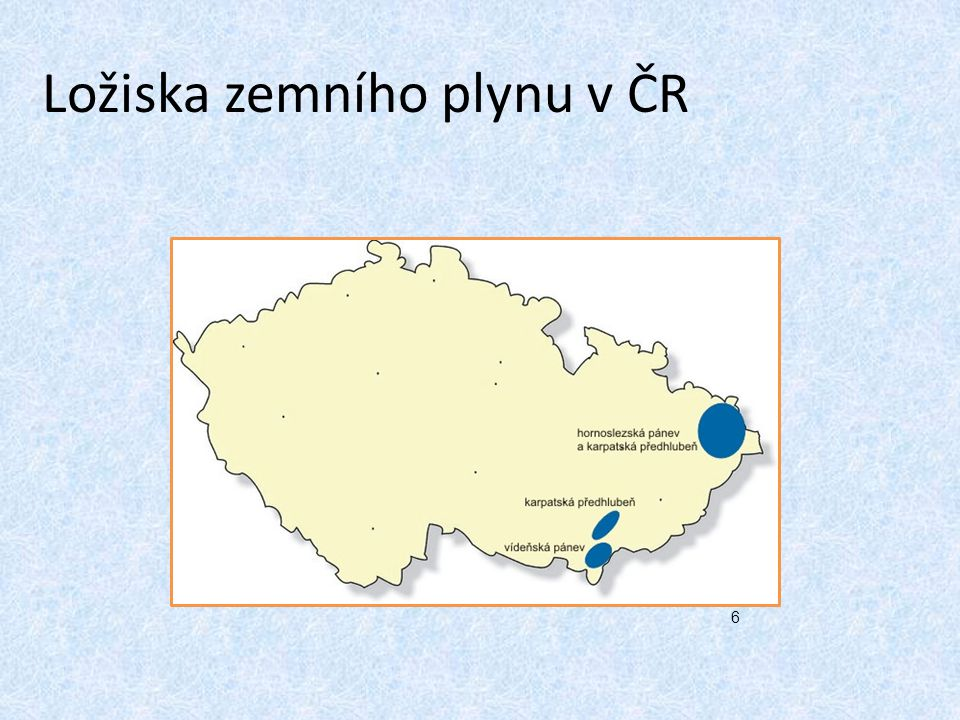 Ložiska zemního plynu v ČR