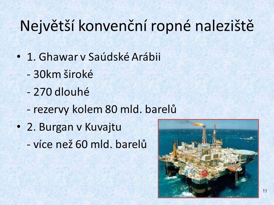 Největší konvenční ropné naleziště