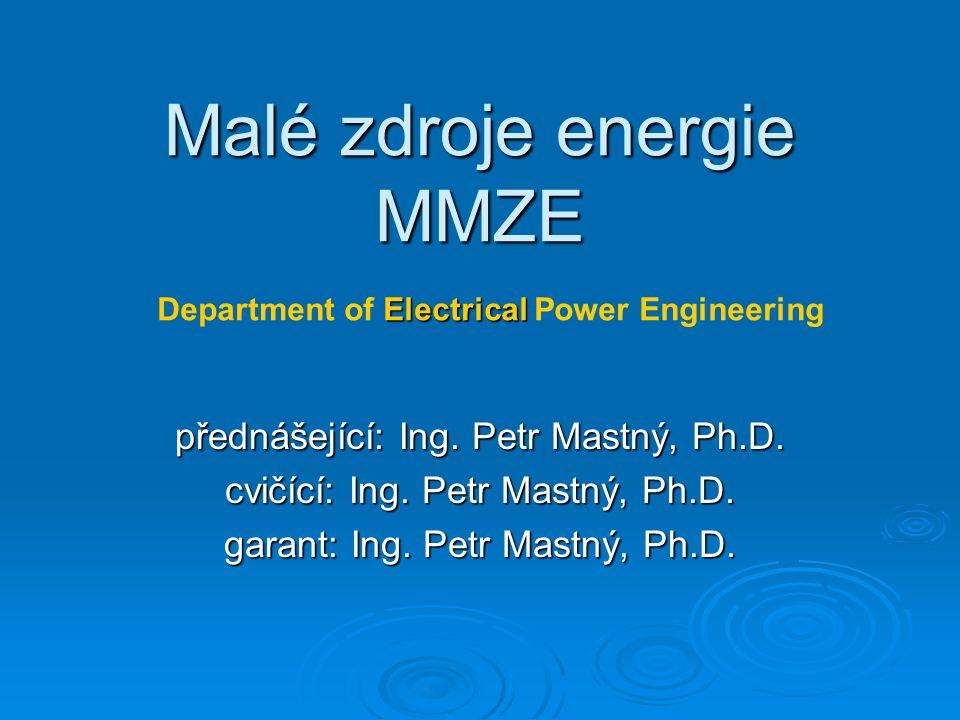 Malé zdroje energie MMZE