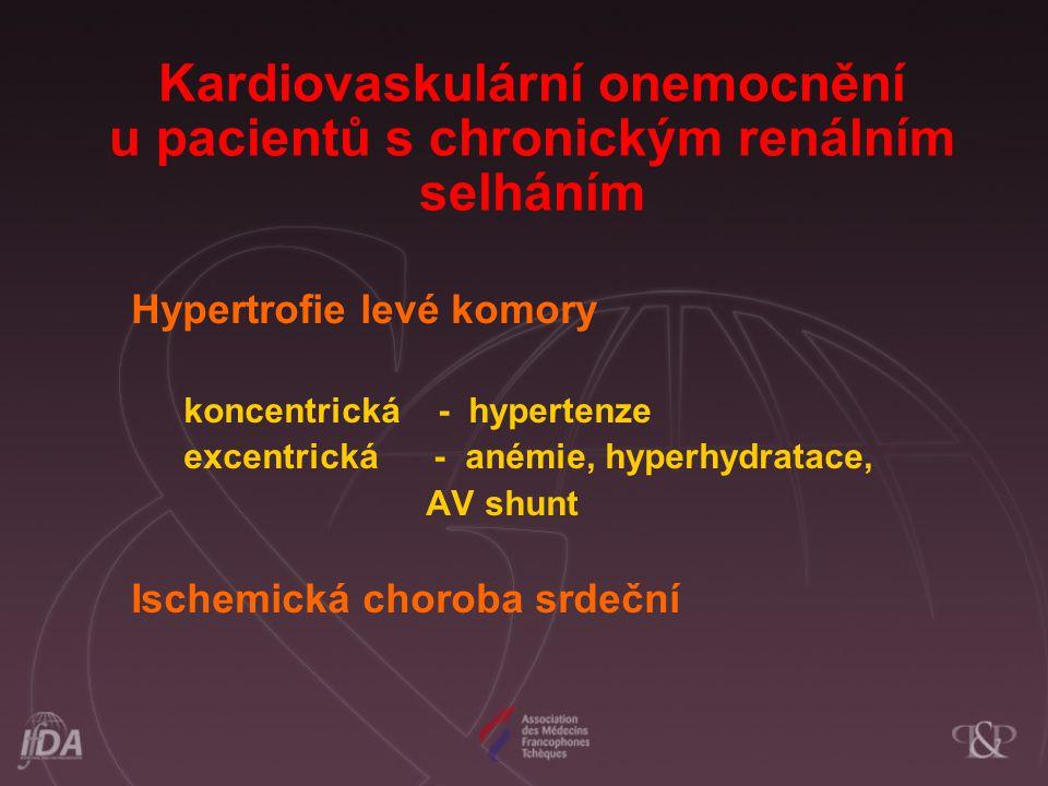 Kardiovaskulární onemocnění u pacientů s chronickým renálním selháním