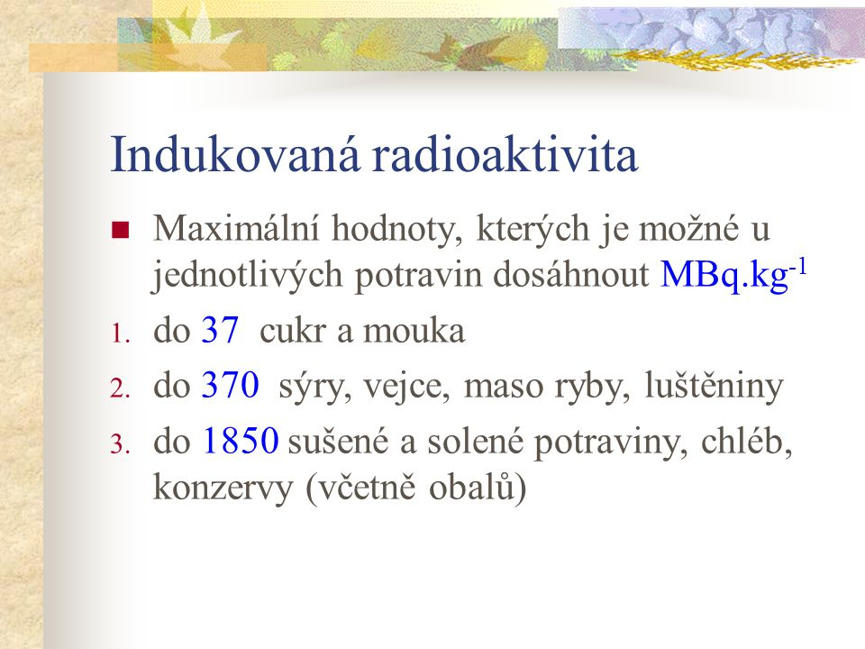 Indukovaná radioaktivita