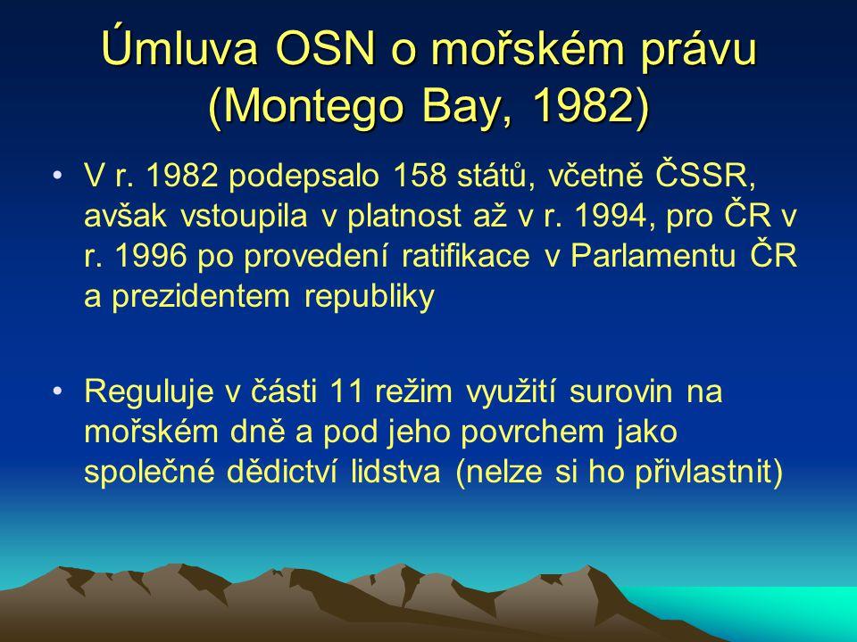 Úmluva OSN o mořském právu (Montego Bay, 1982)