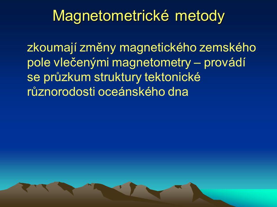 Magnetometrické metody