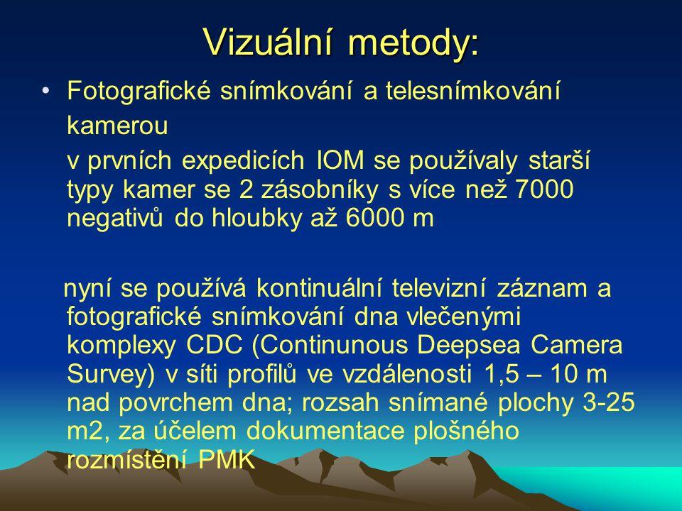 Vizuální metody: Fotografické snímkování a telesnímkování kamerou