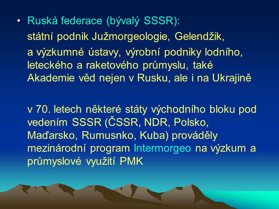 Ruská federace (bývalý SSSR):