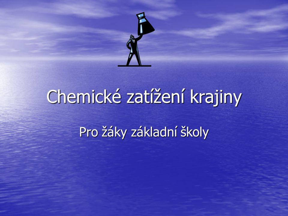 Chemické zatížení krajiny