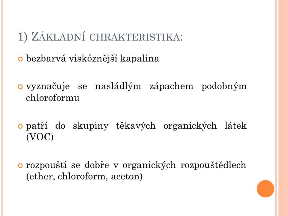 1) Základní chrakteristika: