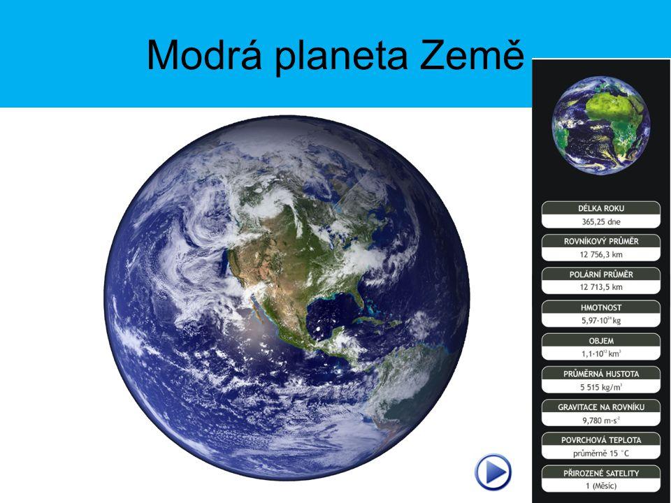 Modrá planeta Země