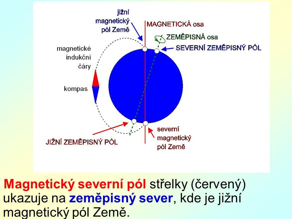 M: kompasy, magnet P: důkaz magnetického pole země.