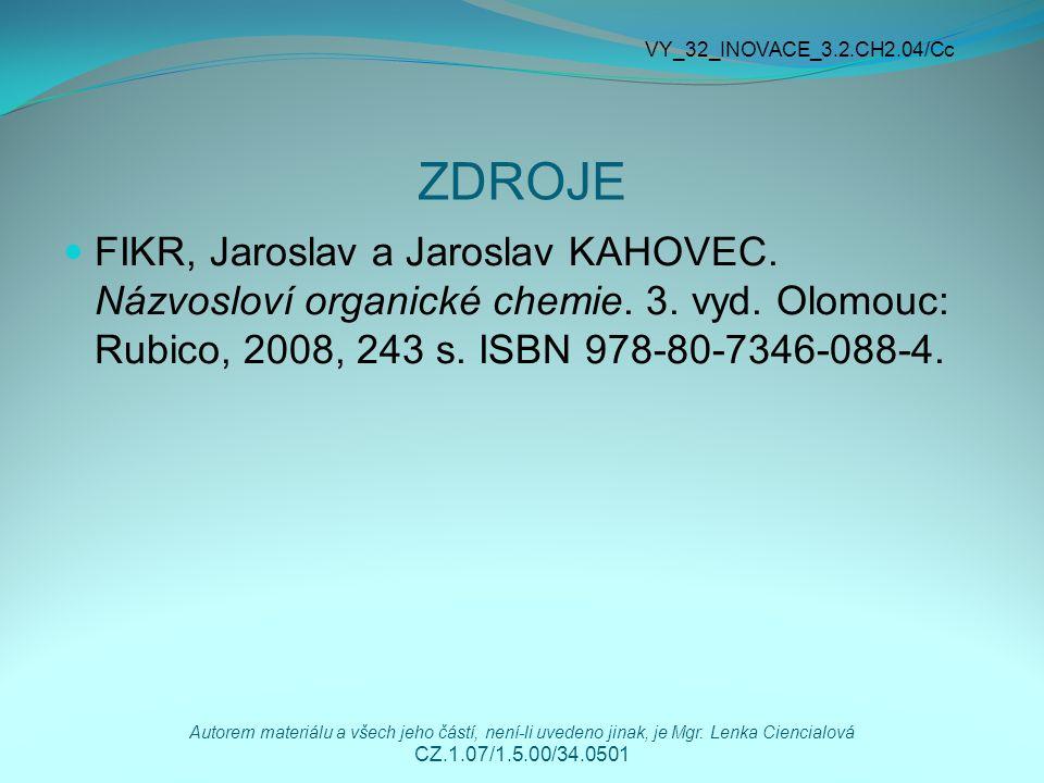VY_32_INOVACE_3.2.CH2.04/Cc ZDROJE.