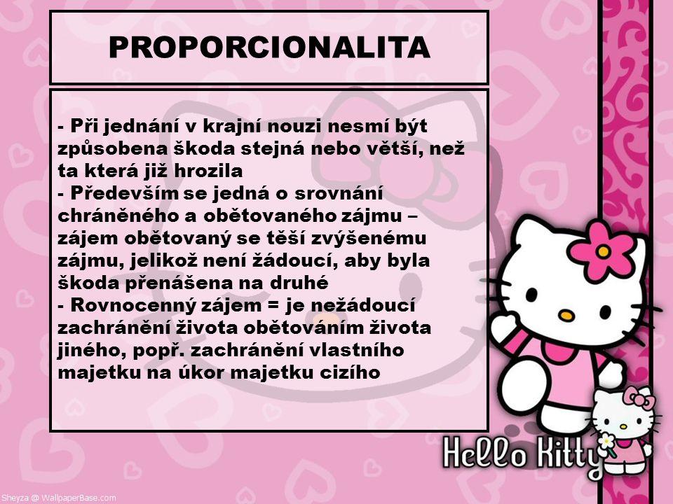 PROPORCIONALITA