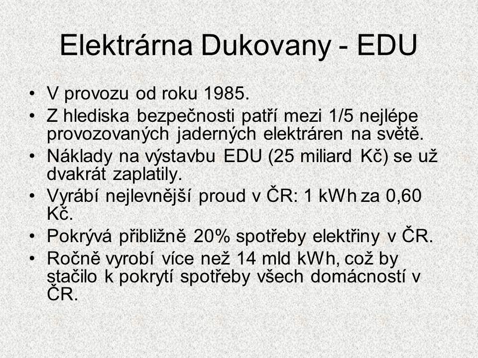 Elektrárna Dukovany - EDU