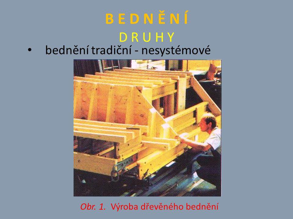 Obr. 1. Výroba dřevěného bednění