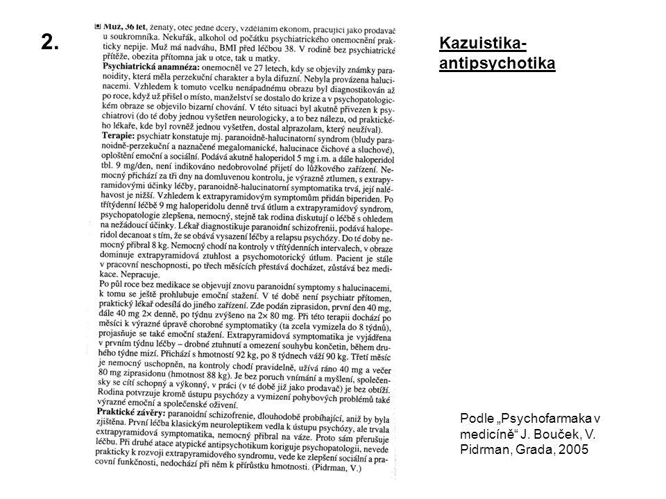 2. Kazuistika-antipsychotika