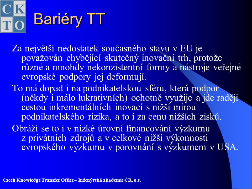 Bariéry TT