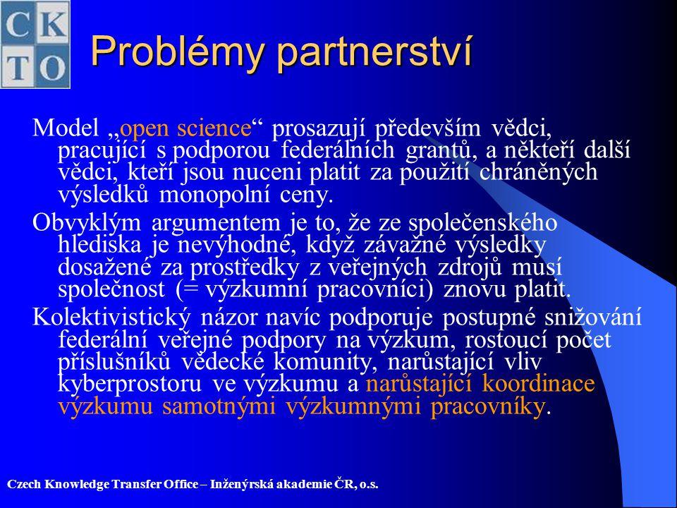 Problémy partnerství