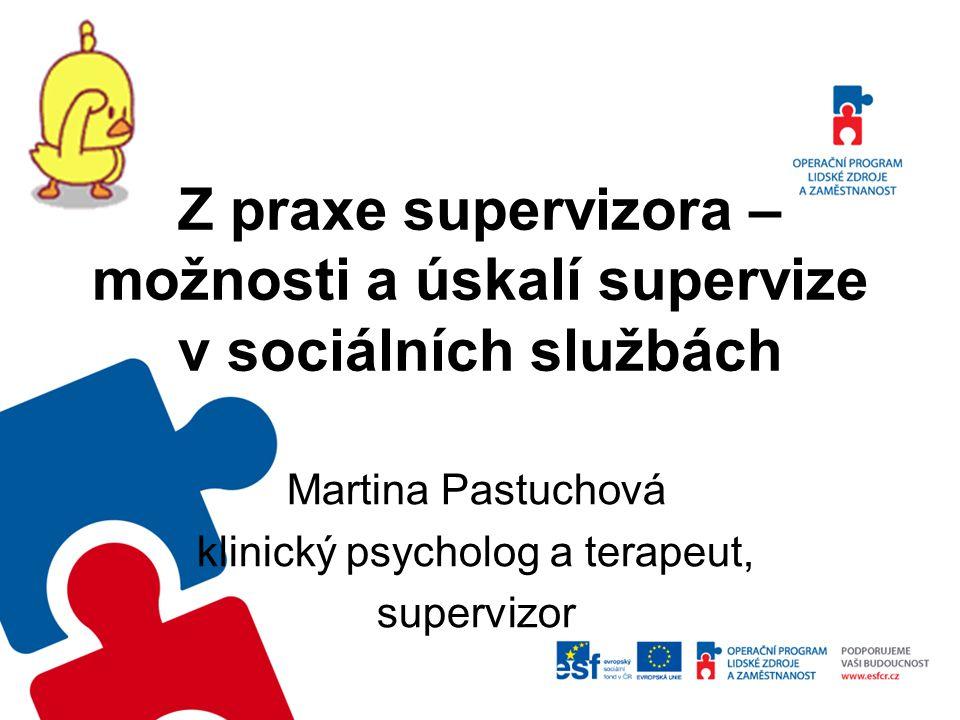Martina Pastuchová klinický psycholog a terapeut, supervizor