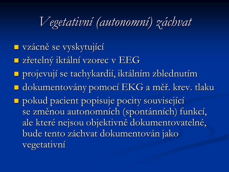 Vegetativní (autonomní) záchvat