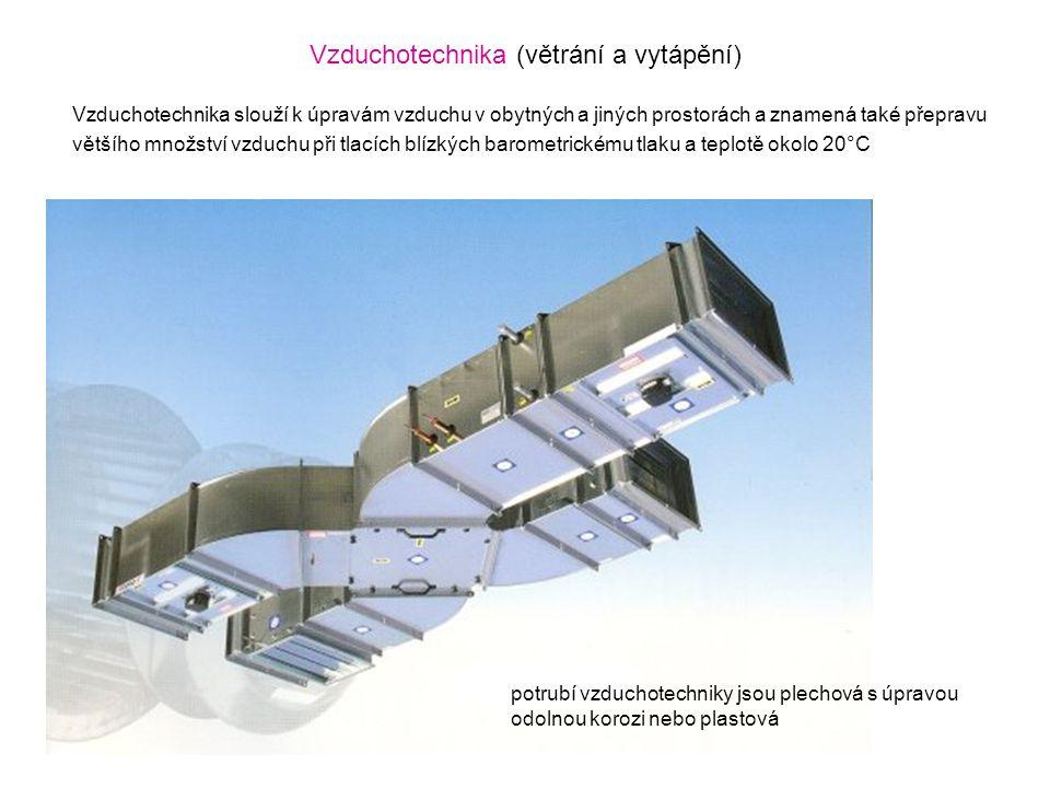 Vzduchotechnika (větrání a vytápění)